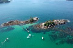 Rio: Ilhas de Angra dos Reis com Passeio de Barco e Almoço