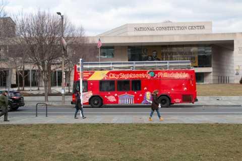 Philadelphia: Hop-On-Hop-Off Bus Flex Pass & Campo's Steak