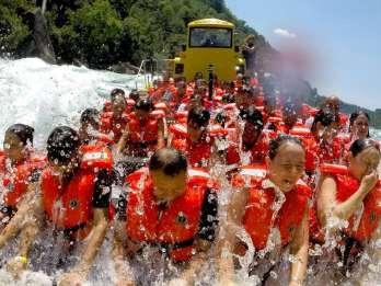 Lewiston USA: Jet-Boat-Tour auf dem Niagara River