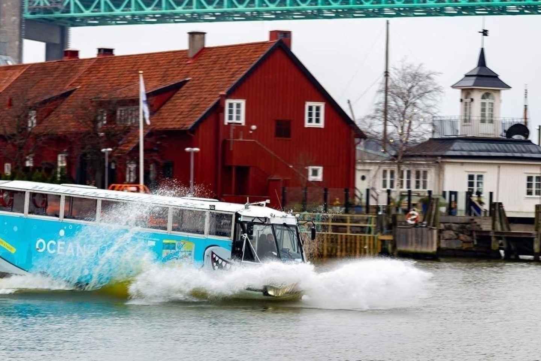 Göteborg: Sightseeingtour mit dem Amphibienbus