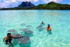 Bora Bora: cruzeiro privativo de 3 horas na lagoa