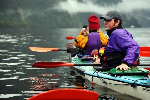 From Manapouri: Doubtful Sound Kayaking Tour