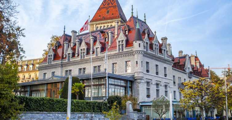 Lausanne: Walking Tour with a Local Guide