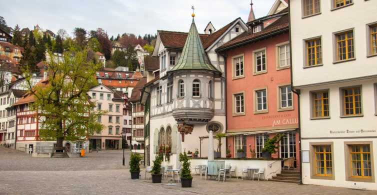 St. Gallen: Express Discovery Walk con guía local