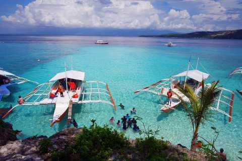 Cebu: Private Sumilon Island & Optional Whale Shark Swim
