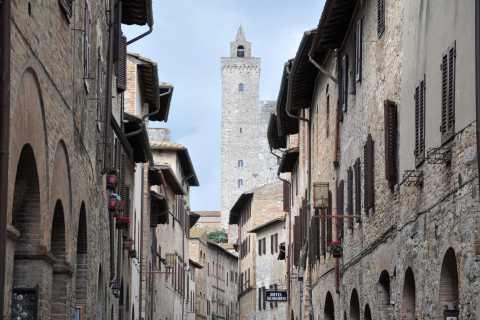 Florence: privétour van een hele dag door Chianti en San Gimignano