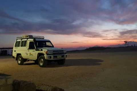Ab Hurghada: Jeep-Safari, Kamelritt & Besuch im Beduinendorf