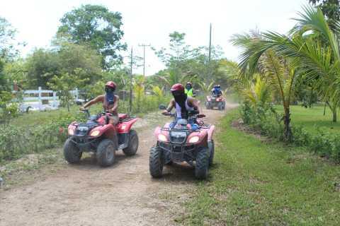Cozumel: ATV Quad Bike Ride and Snorkel Tour