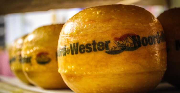 Amsterdam: Walking Tour with Cheese Tasting