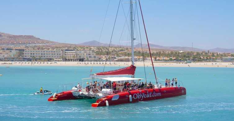 Caleta de Fuste: Catamaran Sailing Experience