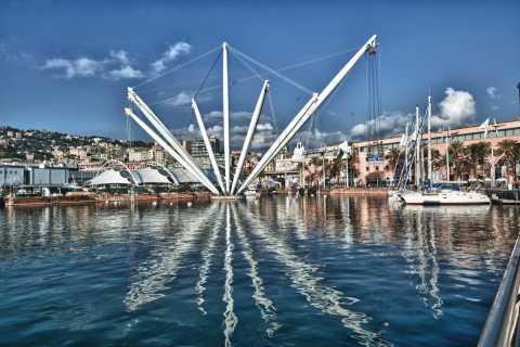 Porto antico: ascensore panoramico di Bigo