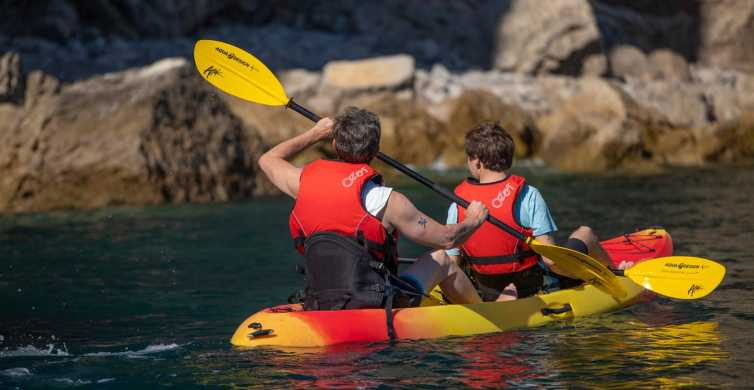 Albufeira: 2-Hour Caves and Cliffs Kayaking Experience