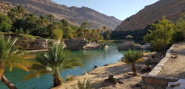 2-daagse safari: Wadi Bani Khalid & Wahiba Sands