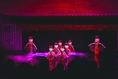 Ingresso Teatro Aquático de Marionetes Thang Long Sem Fila