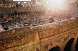 Rom: Schnelleinlass Kolosseum, Gladiatoren-Tor und Arena