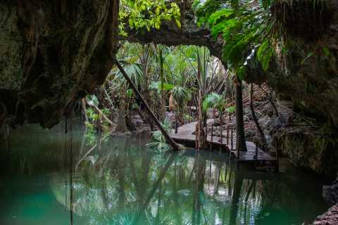 Cozumel: Tortuga Jeep, ATV, Jade Cenote, and Beach Tour