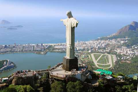 Rio: Christ the Redeemer & Selarón Steps Half-Day Tour