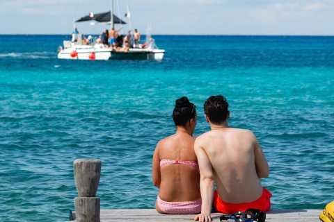 Cozumel: Catamaran, Snorkeling, and Jeep Combo Tour