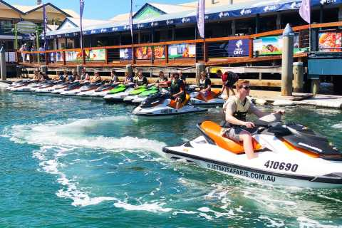 Gold Coast: 30-minutters Jet-Ski Safari