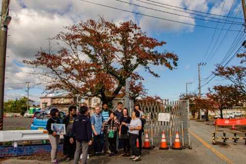 Fukushima: tour notturno dell'area di disastro
