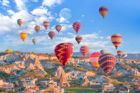 Cappadocia Hot Air Balloon Flight and Full-Day Tour