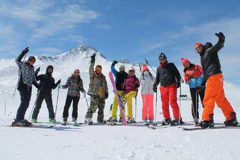 From Cappadocia: Erciyes (Argaeus) Mountain Ski Tour