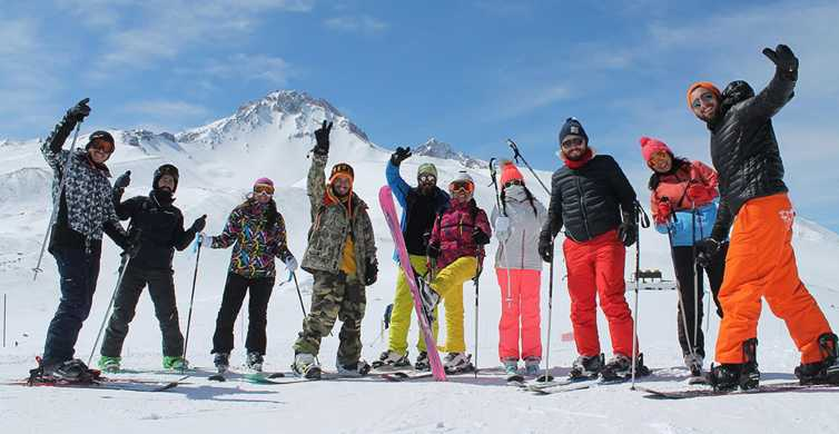 From Cappadocia: Erciyes (Argaeus) Mountain Ski Tour