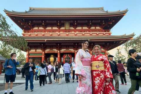 Asakusa: Kawaii Kimono Stadtbummel