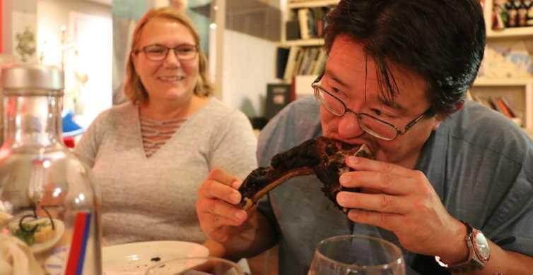 Firenze: Mattur med lokal vin og florentinsk biff