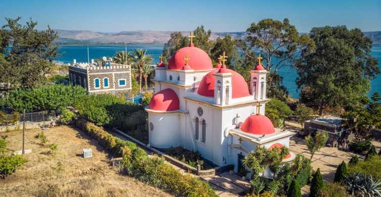 Vanuit Tel Aviv: Jordaan, Nazareth en Meer van Tiberias