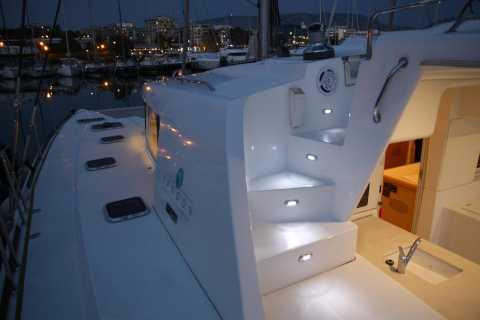 Rhodes: Sunset Catamaran Cruise with Dinner