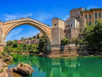 Ab Dubrovnik: Tagestour Mostar, Neum, Pocitelj & Medjugorje
