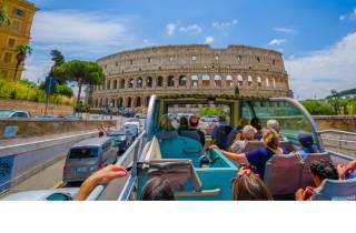 Rom: Hop-On-Hop-Off-Bus & Kolosseum ohne Anstehen