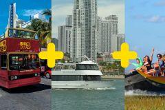 Miami: Excursão Combinada Everglades, Cidade e Cruzeiro