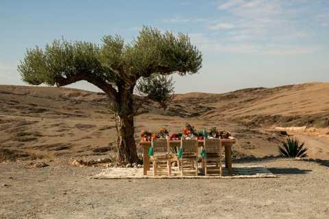 Marrakech: visite du désert d'Agafay, déjeuner et chameau