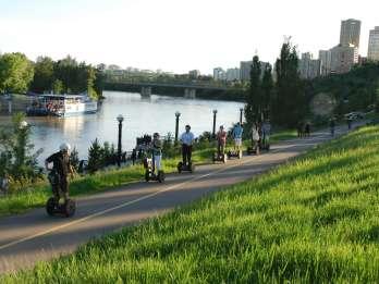 Edmonton: 1-stündiges Segway-Abenteuer im Louise McKinney Park