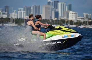 Miami: Aufregende Jetski-Fahrt