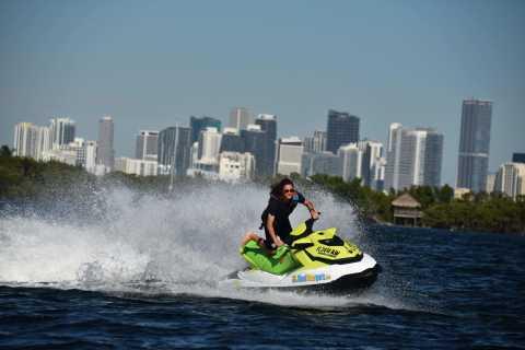 Miami: giro in moto d'acqua