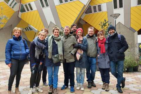 Rotterdam: Private Walking Tour in Spanish