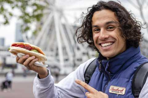 Rotterdam: tour de comida holandesa de 2.5 horas