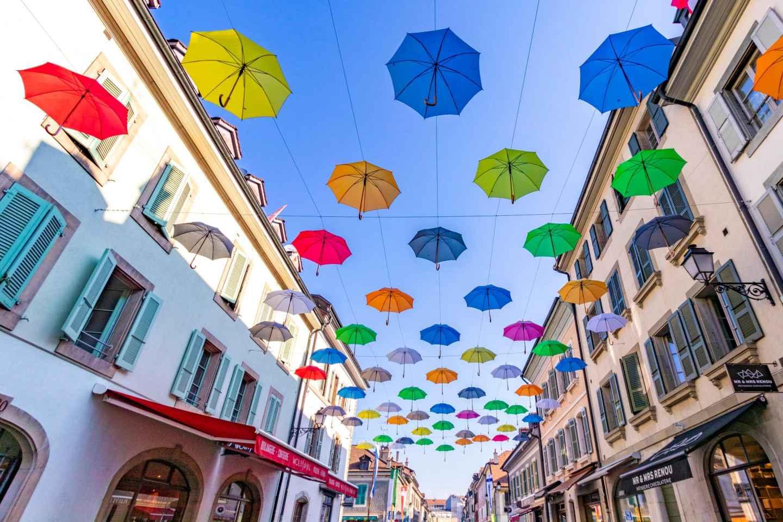 Genf: Stadtführung und Carouge-Tour