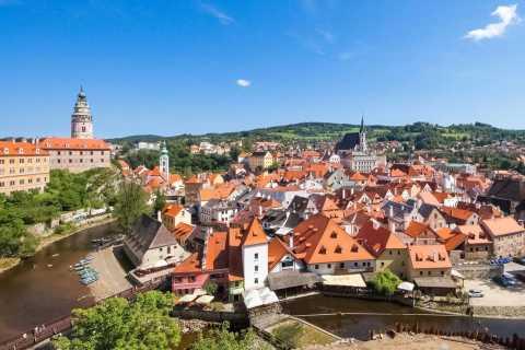 Vienna: trasferimento turistico a Praga via Cesky Krumlov