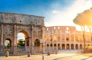 Rom: Kolosseum und Appian Way Katakomben Tour