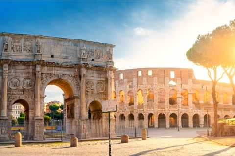 Rome: Colosseum and Appian Way Catacombs Tour