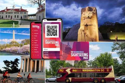 Washington DC: Sightseeing Pass with Attractions & Bus Tour