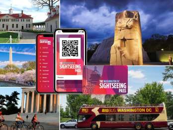 Washington, DC: Sightseeing-Pass mit Attraktionen & Bustour