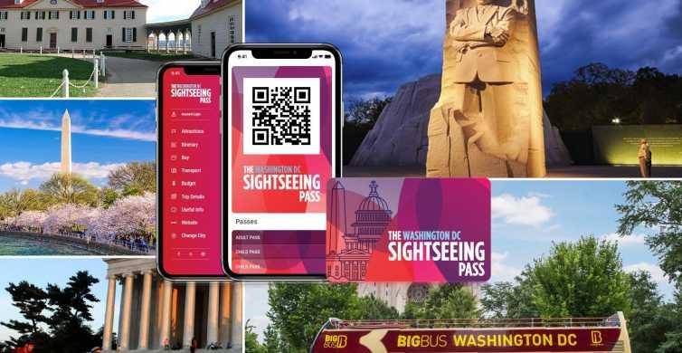 Washington, DC: Sightseeing-Pass mit Attraktionen & Bustour