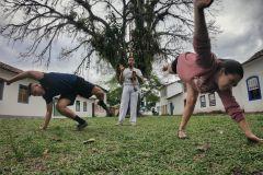 Paraty: Aula de Capoeira e Oficina Cultural