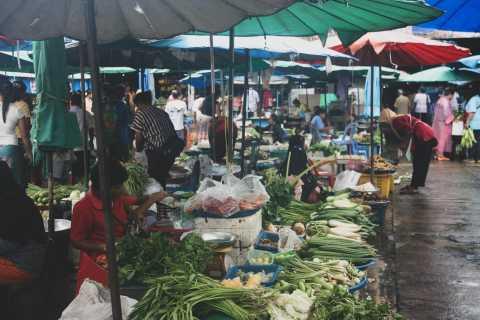 Desde Khao Lak: Mercado, 'Pequeña Amazonía' y Cascadas