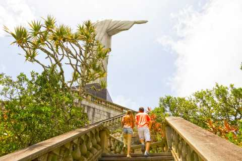 Wonders of Rio: Christ, Selaron Steps, and Tijuca Forest